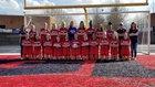 Milton Eagles Girls Varsity Soccer Spring 17-18 team photo.