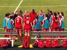 Hartsville Red Foxes Girls Varsity Soccer Spring 17-18 team photo.