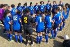 Overland Trailblazers Girls Varsity Soccer Spring 17-18 team photo.