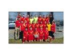 Murphysboro Red Devils Girls Varsity Soccer Spring 17-18 team photo.