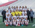 Springdale Bulldogs Girls Varsity Soccer Spring 17-18 team photo.