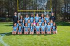 Meadowcreek Mustangs Girls Varsity Soccer Spring 17-18 team photo.