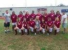 Crossett Eagles Girls Varsity Soccer Spring 17-18 team photo.