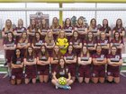 Benton Panthers Girls Varsity Soccer Spring 17-18 team photo.