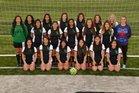 Van Buren Pointers Girls Varsity Soccer Spring 17-18 team photo.