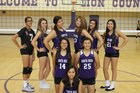Santa Rosa Lions Girls JV Volleyball Fall 14-15 team photo.