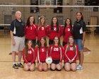 Augusta Christian Lions Girls JV Volleyball Fall 14-15 team photo.