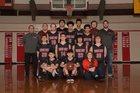 Neah Bay Red Devils Boys Varsity Basketball Winter 18-19 team photo.