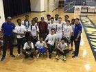 St. Martin Yellow Jackets Boys Varsity Basketball Winter 18-19 team photo.