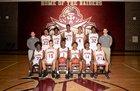 Riverdale Raiders Boys Varsity Basketball Winter 18-19 team photo.