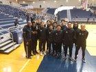 Olympian Eagles Boys Varsity Basketball Winter 18-19 team photo.