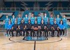 Cleveland Storm Boys Varsity Basketball Winter 18-19 team photo.
