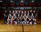 Hurricane Tigers Boys Varsity Basketball Winter 18-19 team photo.