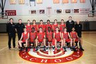 Saint Andrew's Scots Boys Varsity Basketball Winter 18-19 team photo.
