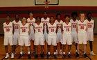 Judson Rockets Boys Varsity Basketball Winter 18-19 team photo.
