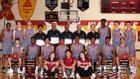 Alemany Warriors Boys Varsity Basketball Winter 18-19 team photo.