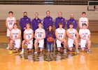 Hanford Falcons Boys Varsity Basketball Winter 18-19 team photo.