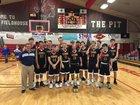 Drummond Bulldogs Boys Varsity Basketball Winter 18-19 team photo.