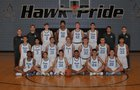 Gila Ridge Hawks Boys Varsity Basketball Winter 18-19 team photo.