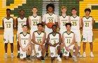 Kentridge Chargers Boys Varsity Basketball Winter 18-19 team photo.