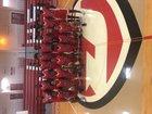 Jacksonville Titans Boys Varsity Basketball Winter 18-19 team photo.