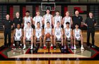 Union Titans Boys Varsity Basketball Winter 18-19 team photo.