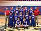 Willapa Valley Vikings Boys Varsity Basketball Winter 18-19 team photo.