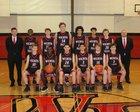 Wichita Falls Coyotes Boys Varsity Basketball Winter 18-19 team photo.