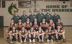Hope Christian Huskies Boys Varsity Basketball Winter 18-19 team photo.