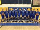 Penasco Panthers Boys Varsity Basketball Winter 18-19 team photo.