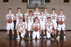 Naselle Comets Boys Varsity Basketball Winter 18-19 team photo.