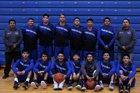 Cibecue/Dischii Biko Wildcats Boys Varsity Basketball Winter 18-19 team photo.