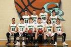 Green River Pirates Boys Varsity Basketball Winter 18-19 team photo.