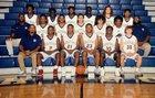 High Point Central Bison Boys Varsity Basketball Winter 18-19 team photo.