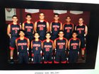 Annapolis Christian Academy Warriors Boys Varsity Basketball Winter 18-19 team photo.