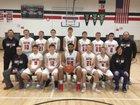East Sac County Raiders Boys Varsity Basketball Winter 18-19 team photo.