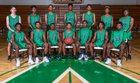 Ashbrook Greenwave Boys Varsity Basketball Winter 18-19 team photo.