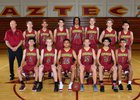 Esperanza Aztecs Boys Varsity Basketball Winter 18-19 team photo.