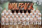 Green Canyon  Boys Varsity Basketball Winter 18-19 team photo.