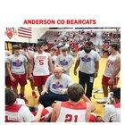 Anderson County Bearcats Boys Varsity Basketball Winter 18-19 team photo.