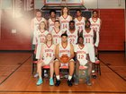 South Stanly Rowdy Rebel Bulls Boys Varsity Basketball Winter 18-19 team photo.