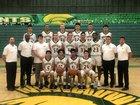 Mayfield Trojans Boys Varsity Basketball Winter 18-19 team photo.