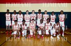 Monsignor Pace Spartans Boys Varsity Basketball Winter 18-19 team photo.