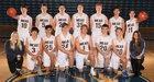 Mead Panthers Boys Varsity Basketball Winter 18-19 team photo.