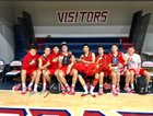 Mission Viejo Diablos Boys Varsity Basketball Winter 18-19 team photo.