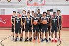 Coral Gables Cavaliers Boys Varsity Basketball Winter 18-19 team photo.