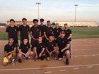 Chavez Titans Boys Varsity Basketball Winter 18-19 team photo.