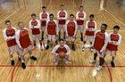Quemado Eagles Boys Varsity Basketball Winter 18-19 team photo.