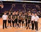 Tri-City Christian Academy Warriors Boys Varsity Basketball Winter 18-19 team photo.