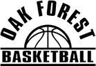 Oak Forest Bengals Boys Varsity Basketball Winter 18-19 team photo.